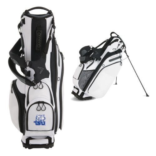 Tennessee State Callaway Hyper Lite 4 White Stand Bag 'Official Logo' by CollegeFanGear