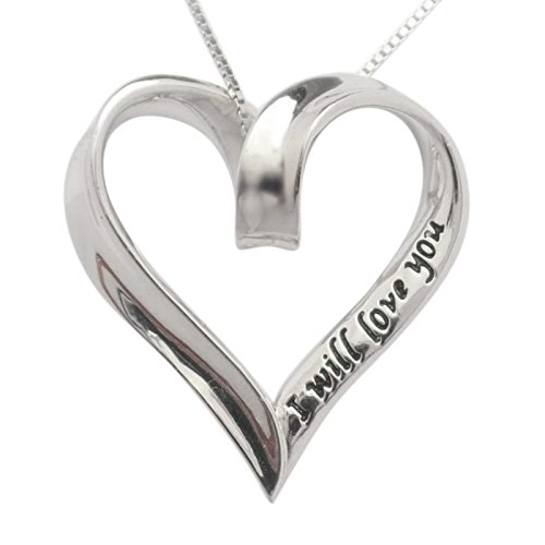 Sterling Silver Forever Necklace Trulycharming product image