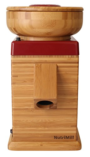 NutriMill Harvest Stone Grain Mill, 450 Watt - Black