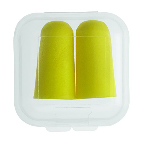 Earplugs In Square Case - 250 Quantity - $1.20 Each - PROMOTIONAL PRODUCT / BULK / BRANDED with YOUR LOGO / CUSTOMIZED by Sunrise Identity (Image #2)