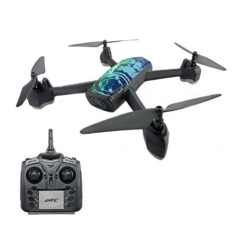 Hobbyfly JJRC H55 TRACKER GPS FPV RC Drone Camera Live Video GPS Waypoint Return to Home Positioning Quadcopter 720P HD WIFI Camera Altitude Hold Headless Mode, Blue Review