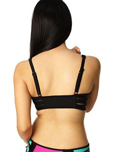 Das Neopren Bikini Spitze der Körper Explosions Badebekleidungs Frauen