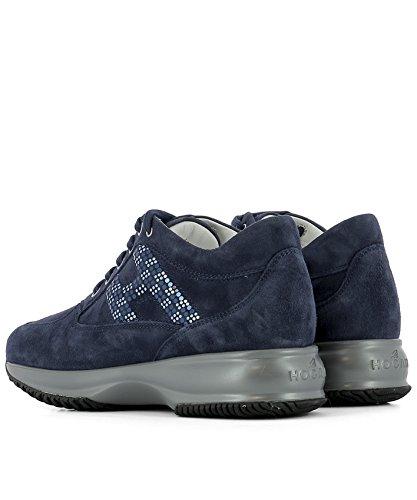 Hogan Baskets HXW00N0X290CR0U800 Suède Femme Bleu AwfqA8