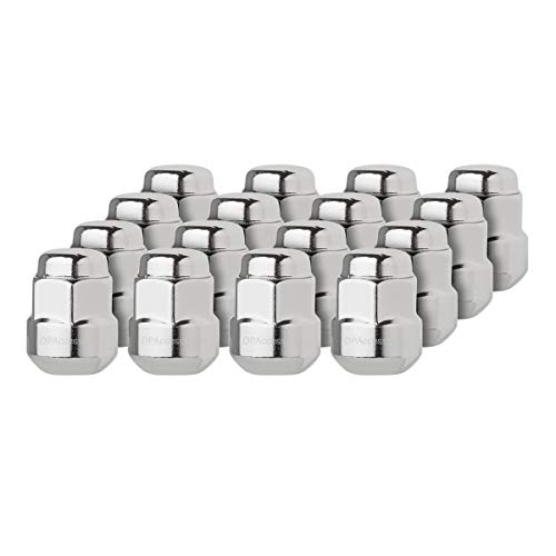DPAccessories LCR2B6HCOCH04016 16 Chrome Factory Style Lug Nuts for Honda Acura Aluminum Wheels 90381S4L003 Wheel Lug Nut - Base Honda Civic Wheel