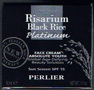 Black Rice Platinum Face (Perlier Risarium Black Rice Platinum Absolute Youth Face Cream with SPF 15, 1.7 Oz.)