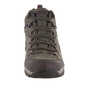 Northside Women's Pioneer Hiking Boot, Stone/Berry, 10 B(M) US