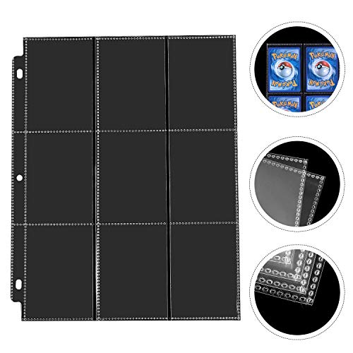 DACCKIT Carrying Case Compatible with Pokemon Trading Cards, Cards Collectors Album with 30 Premium 9-Pocket Pages, Holds Up to 540 Cards by DACCKIT (Image #3)