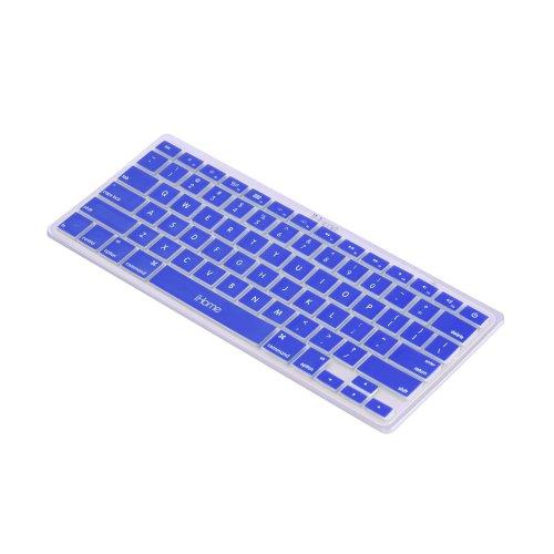 iHome  Silicone Corded USB Keyboard, Blue (IH-K260N)