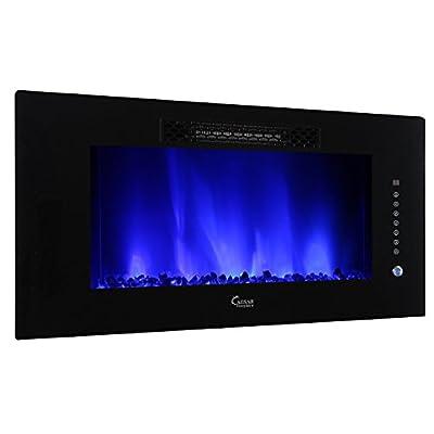 Caesar Hardware Luxury Linear Electric Fireplace