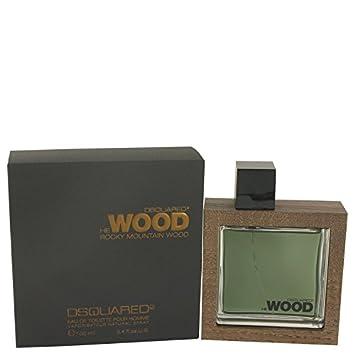 Amazon.com   Dsquared2 He Wood Rocky Mountain Eau De Toilette for men 3.4  oz   Beauty a29b3a6930a8