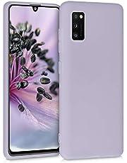 kwmobile telefoonhoesje compatibel met Samsung Galaxy A41 - Hoesje voor smartphone - Back cover in lavendel