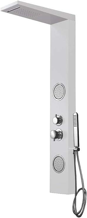 Sanlingo - Columna de ducha con función masaje (aluminio), color ...