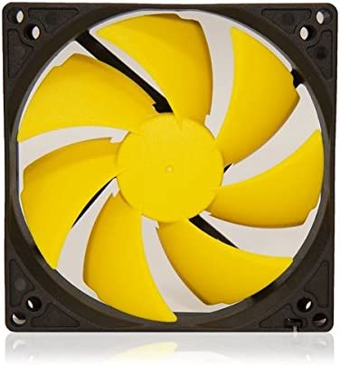 Washable Super Mute for Power PcCooler F105,100mm//10cm Quiet Fan Single Fan