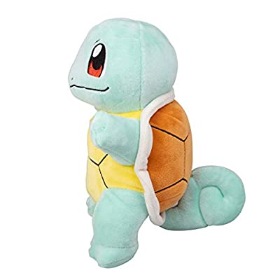 WCT - WT95224 Plush Pokémon Squirtle, Multicolored (Blue / Yellow / Black), 20 cm: Toys & Games