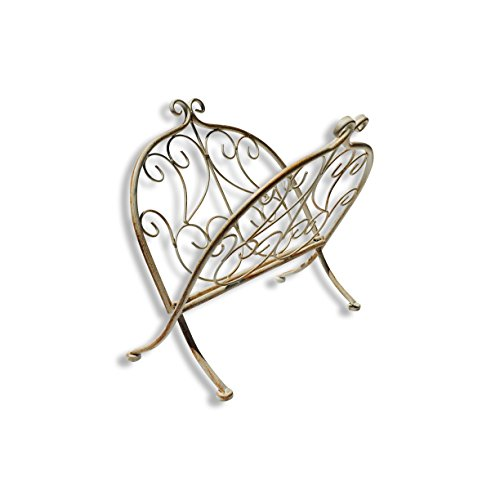 The Fold-UP French Country Style Magazin - White Metal Magazine Rack Shopping Results