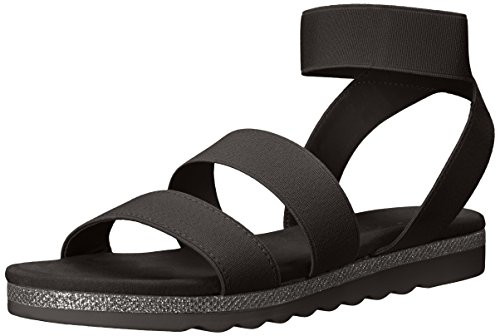 para André Verna mujer Black Sandal Assous nwaqH7T