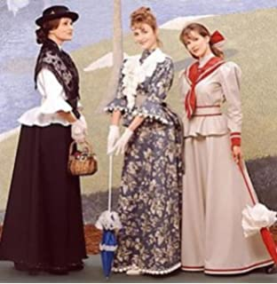 Simplicity 8375 - Misses Victorian Costume Pattern - Size P (12, 14,