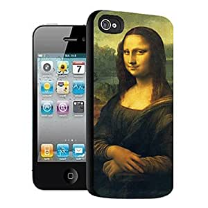 Mini - Mona Lisa Pattern 3D Effect Case for iPhone5