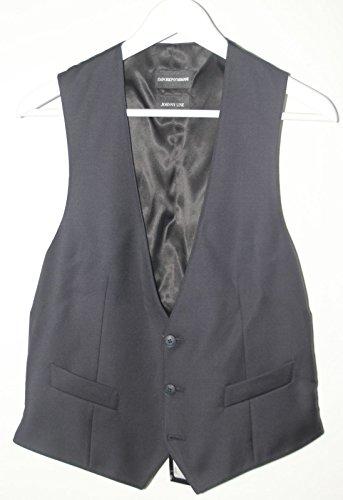 0f476f0fc816 Emporio Armani Mens Waistcoat Vest J1k010 Johnny Line Navy Blue ...