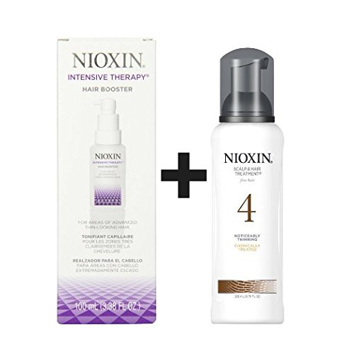 Scalp Booster (Nioxin Intensive Therapy Hair Booster PLUS System 4 Scalp Treatment Set)