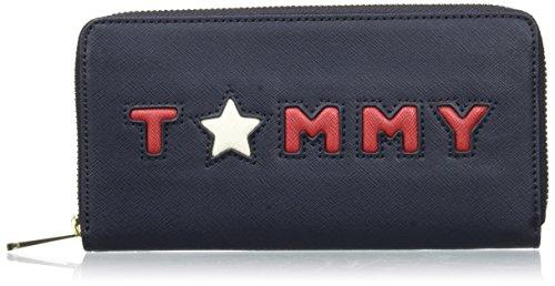Tommy Hilfiger Womens Honey Large Za Wallet Tommy Star Wallet - Porte monnaie tommy hilfiger