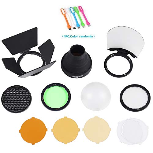 (Godox AK-R1 Flash Light Accessories Kit for Godox H200R Ring Flash Head, AD200)