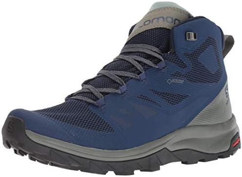 salomon outline mid gtx mens hiking boot