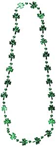 Shamrock Beads (internet friendly) Party Accessory  (1 count) (1/Card)