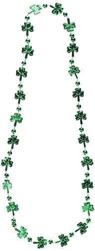 Beistle 30597I Shamrock Beads, 33-Inch ()