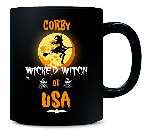 Corby Wicked Witch Of Usa. Halloween Gift - Mug