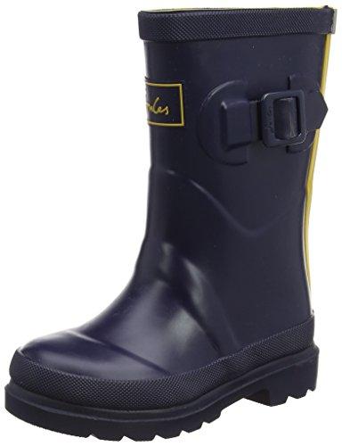 Joules Boys Field Welly Rain Boot, Marine Navy, 11 Medium UK Little Kid (12 US) Big Kid Field Boot