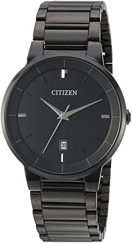 Citizen Black Ion-Plated Watch