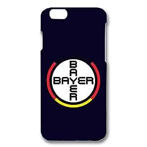 Bayer 04 Leverkusen Phone Case Creative Football Club Team Logo 3D Bayer 04 Phone Case for Iphone 6 4.7 (inch)