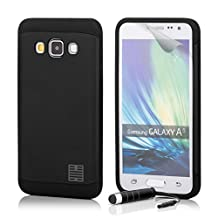 32nd Slim Armour Defender Case Cover for Samsung Galaxy A5 SM-A500 (2015) - Black