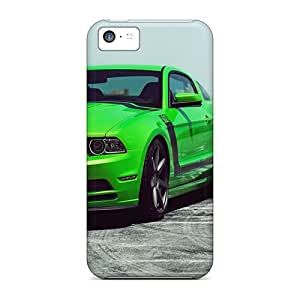 RPw1841tDEF Tpu Phone Case With Fashionable Look For Iphone 5c - Ford Mustang (30)