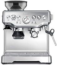 Breville BES870XL Barista Express Espresso Machine, Brushed Stainless Steel