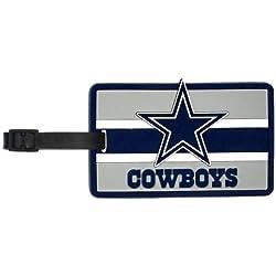 aminco NFL Dallas Cowboys Soft Bag Tag, 7.5, Blue