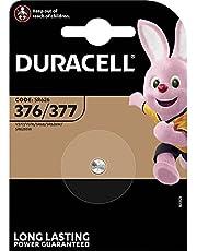 Duracell Specialty 377 zilveroxide-knoopcel 1,55 V, 1-pack (SR66 / SR626 / V377 / V376 / SR626W / SR626SW) ontwikkeld voor gebruik in horloges, rekenmachines en medische apparaten