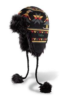 Dakine Women's Tasha Faux Fur Lined Beanie with Tails (Black, One Size) (B005663WF8) | Amazon price tracker / tracking, Amazon price history charts, Amazon price watches, Amazon price drop alerts