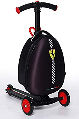 Amazon.com: Ferrari Carry On - Patinete plegable: Sports ...