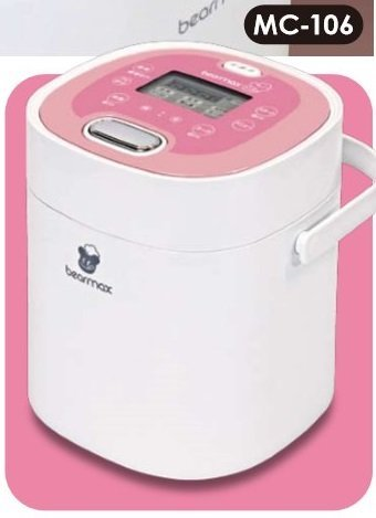 Bearmax Rice cooker MC-106 (White / pink)
