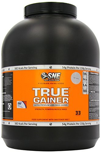 Sports Nutrition Europe True Gainer Banana 5000g by Sports Nutrition Europe