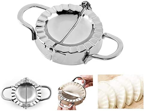 304 Stainless Steel Dumpling Maker Pie Empanada Press Ravioli Wrapper Mold Mould
