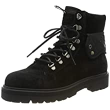 Tommy Hilfiger Reflective Detail Lace Up Boot, Botines para Mujer, Black 990, 39 EU