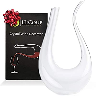 Crystal Wine Decanter by HiCoup