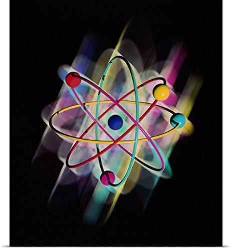 Mehau Kulyk Poster Print entitled Computer artwork of a beryllium atom