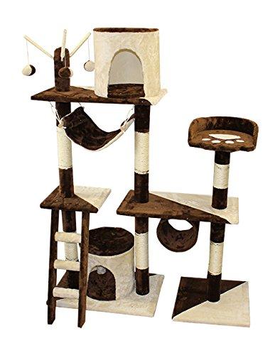 Árbol para gatos - Rascador para gatos Árbol Gatos algodón Sisal columnas Escalada Árbol: Amazon.es: Productos para mascotas