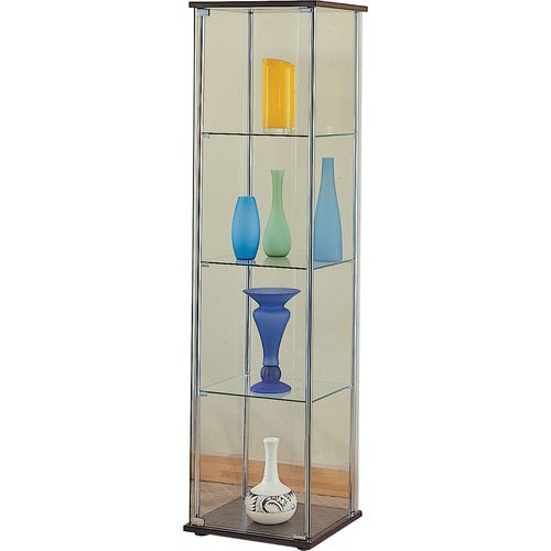Coaster Modern Contemporary Cabinet Cappuccino