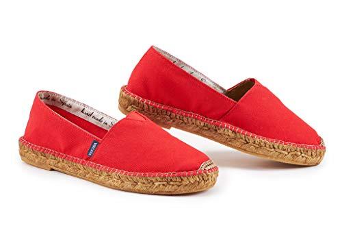 Espadrilles Canvas Shoes - Barceloneta - Red EU38