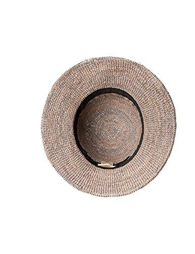 Qualità Cap 3 Cappello Tessitura colore Da A Beach Marea Moda Sole 1 Di Buona Estate Big Paglia aq7z1awg